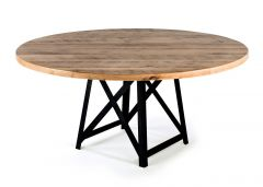 Uptown Wood Top Table